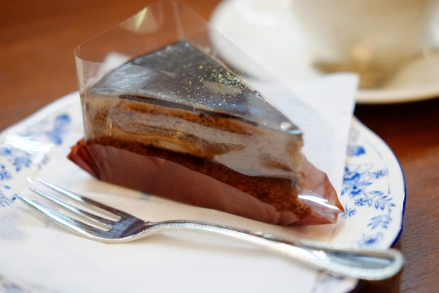 fujifilm X-T1で撮影、ドトールのケーキ